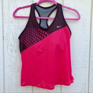 Nike Women Racer Back Tank.